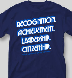 Honor Society Shirt Designs You Will Succeed clas-859a5