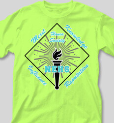 Honor Society Shirt Designs Honor Torch cool-472h1