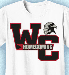 Ideas for Homecoming Shirts - Warrior Madness - desn-825w2