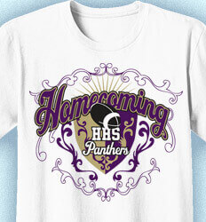 Ideas for Homecoming Shirts - Shield of Rock - clas-949s5