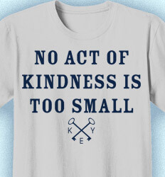 Key Club T-Shirt Designs - No Act of Kindness is Too Small - idea-81n1