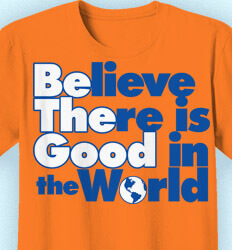 Key Club T-Shirt Designs - Believe There is Good - cool-307b1