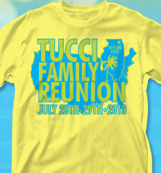 KeyLime Cove Shirt Design - Illinois Reunion desn-729i1