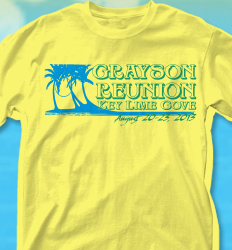 KeyLime Cove Shirt Design - KeyLime Palms desn-717k1