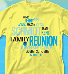 Family Reunion T Shirt Designs T