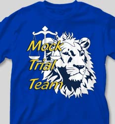 Mock Trial Shirts - Mascot Mock Trial cool-207m1