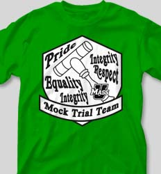 Mock Trial Shirts - Equality Shield cool-92e2