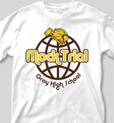 Mock Trial Shirts - United Globe clas-665v1