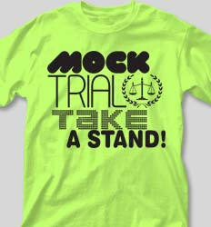 Mock Trial Shirts - Dang desn-289j4