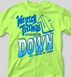 New Student Orientation T Shirts - We Pick Things Up cool-111w1
