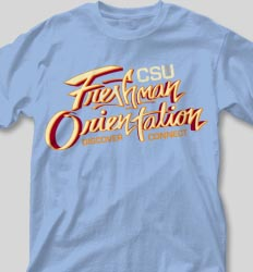 New Student Orientation T Shirts - Freshman Connect cool-106f1
