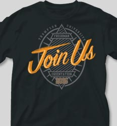 New Student Orientation T Shirts - Join Us cool-114j1