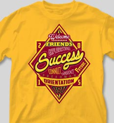 New Student Orientation T Shirts - Transition Success cool-107t1
