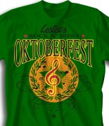 Oktoberfest T Shirt  - Honor Choir desn-814h1