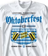 OktoberfestT Shirt  - German Happy Hour desn-848g1
