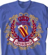 Oktoberfest T Shirt  - Choir Royale desn-816c2