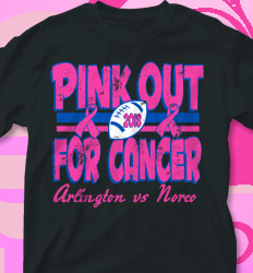 Pink Out Shirt Designs - Vintage Pink - cool-709v1