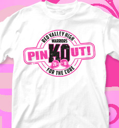 Pink Out Shirt Designs - KO Cancer - cool-710k1