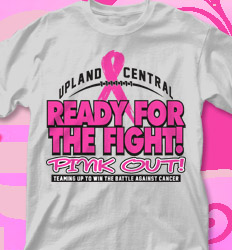 Pink Out Shirt Designs - Ready for the Fight - cool-717r1