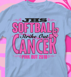 Pink Out Shirt Designs - Pink Out Strike Out - cool-706p1