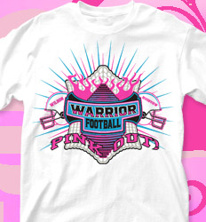 Pink Out Shirt Designs - Homecoming Fever - clas-307h5