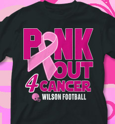 Pink Out Shirt Designs - Pink Out Football - cool-701p1