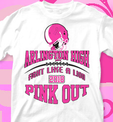 Pink Out Shirt Designs - Game Tradition - cool-277g4
