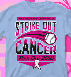 Pink Out Shirt Designs - Team Pitch - cool-586t2
