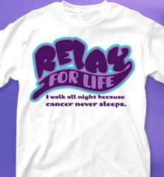 Relay for Life Shirt Designs - Superscript clas-124y6