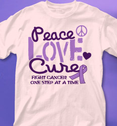 Relay for Life Shirt Designs - Message desn-770n4