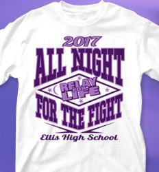 Relay for Life Shirt Designs - Volley Strike cool-210v2