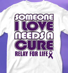 Relay for LIfe Shirt Designs - Hope Faith Cure cool-549f2