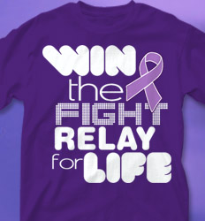 Relay for LIfe Shirt Designs - Dang desn-289l2