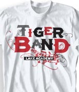 School Band Shirts - Crescendo desn-813c3