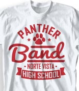 School Band Shirts - Our Mark desn-740o3