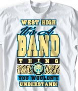 School Band Shirts - Great Class desn-768g2