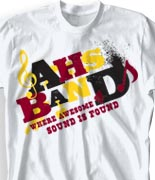 School Band Shirts - Randomizer desn-301s2