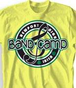 School Band Shirts - Team Logo clas-979t6