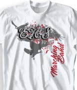 School Band Shirts - Forgiven clas-811f9