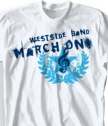 School Band Shirts - Star Laurel desn-643s2