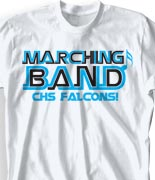 School Band Shirts - Orbit clas-711o9
