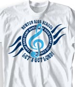 School Band Shirts - Heater clas-729h2
