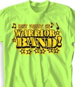 School Band Shirts - Sweet Skills clas-680s7