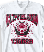 School Spirit T Shirt - Tiger Staff desn-685t1