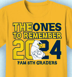 School T Shirt - Ones To Remember - cool-218p1