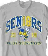 Senior Class Shirts: Check out 24 NEW Design Ideas - IZA Design