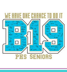 Senior Class Signature Template - One B19 Chance - cool-661o2