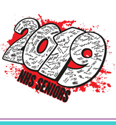 Senior Class Signature Template - Year Blast - cool-10y7