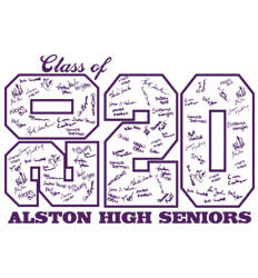 Senior Class Signature Template - Stack Up Year - desn-601t7
