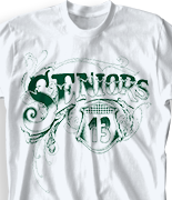 Senior Class T Shirt - Belletristic clas 952b5